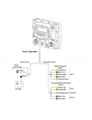 Cavo Alimentazione ed interfaccia NMEA 0183 Lowrance Hds/ Elite Ti/ Elite Ti 2/ hook