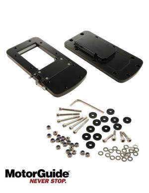 Sgancio Rapido Per Motori Elettrici Xi3 E Xi5 in alluminio nero