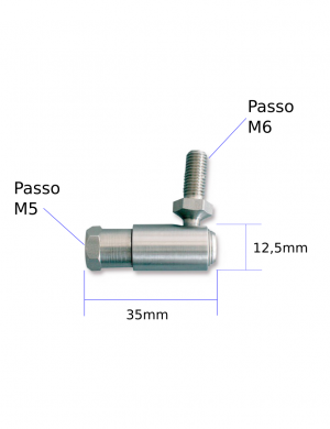 Snodo filettato (L7) per cavi F02-F08-C2-C8-MACH Zero