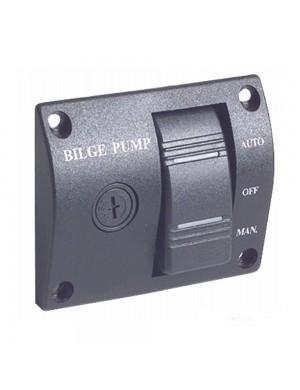 Pannello controllo 12V pompe di sentina universale mm 75 x 60