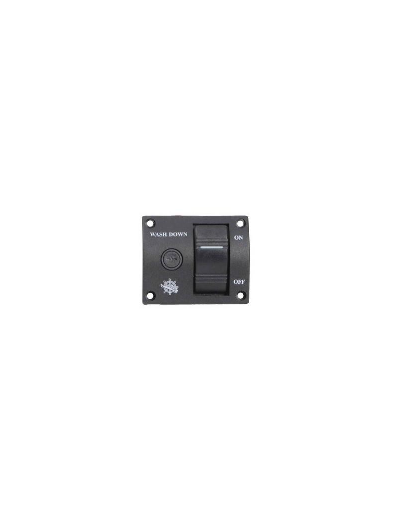 Pannello controllo per pompe Washdown lavaggio ponte mm 75 x 60