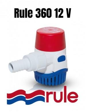 Pompa di sentina Rule 360-24DA 12V