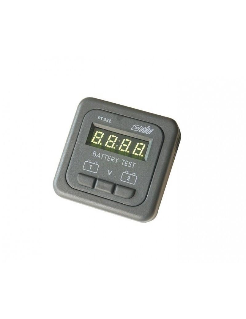 Pannello test voltometro digitale a microprocessore mm 60 x 60