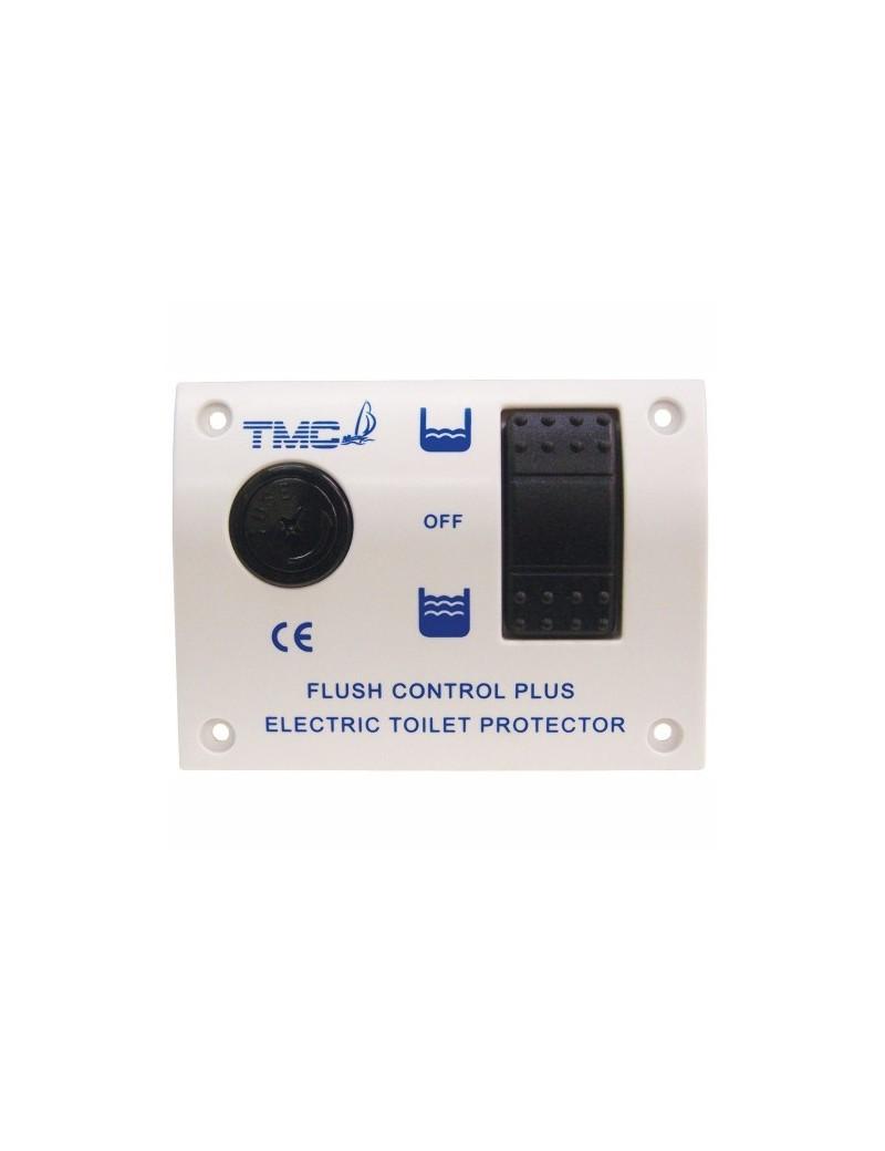 Pannello TMC interruttore WC elettrico mm 115 x 85