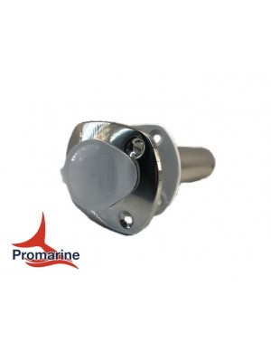 Porta canne 90° ad incasso in acciaio INOX mm base 111 x 88 x H200