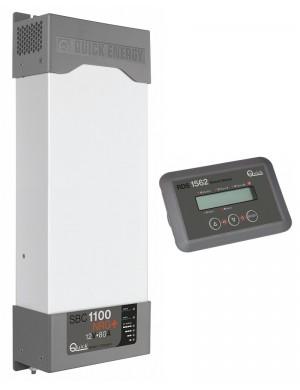 Quick Caricabatterie SBC1100 NRG 24V 80A Con Pannello Remoto