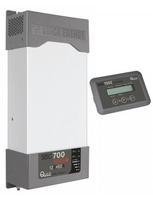 Quick Caricabatterie SBC 700 NRG 12V 60A Con Pannello Remoto