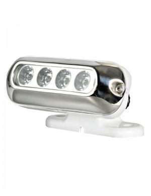 Faretto completo 4 LED bianchi