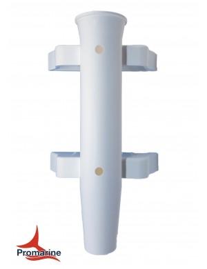Porta canne a parete in plastica 1 posti mm base 144