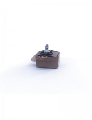 Scrocchetto a pulsante mini Senza Pomello