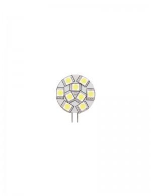 Lampadina Led 1.5w (luce Calda) mm 28 attacco G4 Laterale