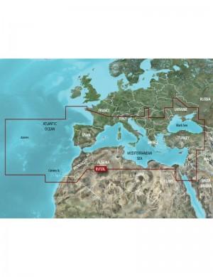 Garmin Cartografia BLURCHART G3 HD VISION Mar Mediterraneo