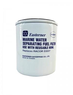Filtro ricambio carburante separatore acqua/benzina 10 micron replica RACOR S3227 (foro mm 23,5)