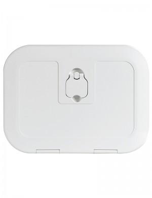 Portello Ispezione in ABS Bianco cm 38x28