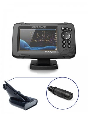 Lowrance Hook Reveal 5 con Trasduttore 50/200