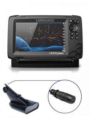 Lowrance Hook Reveal 7 con Trasduttore 50/200