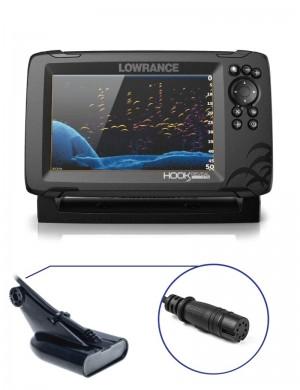 Lowrance Hook Reveal 7 con Trasduttore 50/200