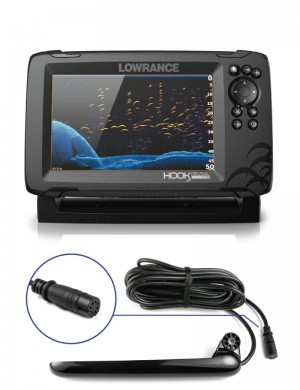 Lowrance Hook Reveal 7 con Trasduttore Tripleshot