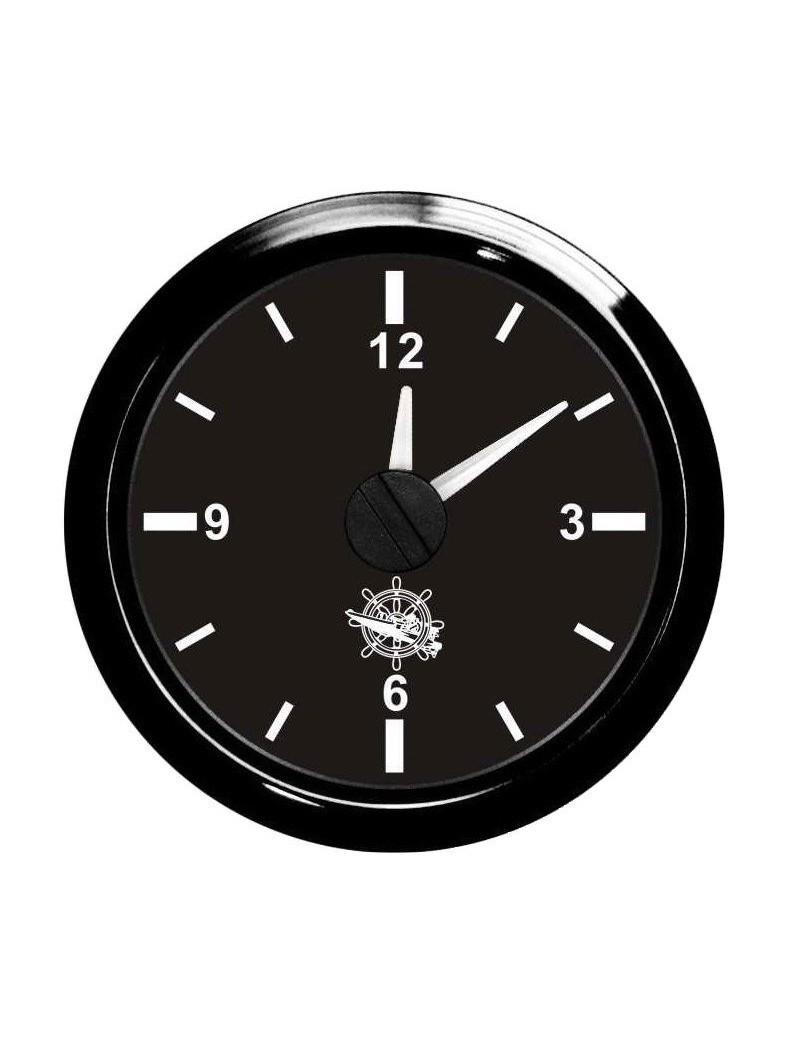 Orologio cornice e quadrante NERO mm 57 x 51