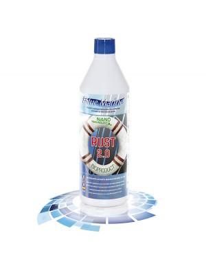 Detergente e lucidante per inox e vtr RUST 2.0 Blue Marine da 1 kg