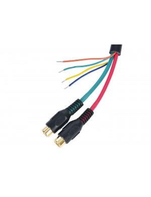 Cavo Video per Simrad NSE/NSS connettore a 8 pin+fili liberi+2 RCA