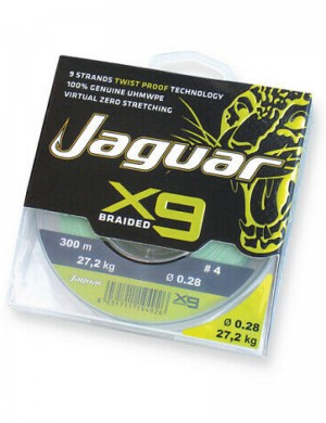 Jaguar Braided X9 300 metri
