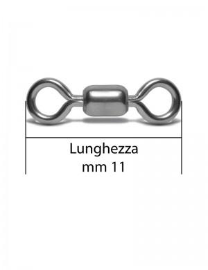 Girella Crane Nickelata Mis.6 55Lbs 1000pz