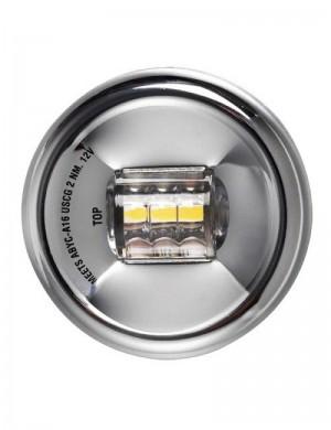 Luce Navigazione da POPPA 135°a LED in Acciaio INOX