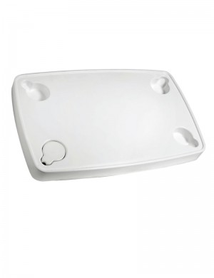 Tavolo ABS bianco 81 x 51 cm