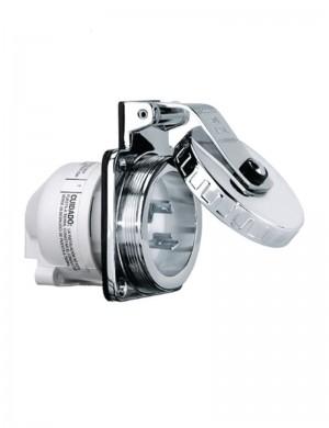 Hubbel Spina 2P 230V 32A Inox