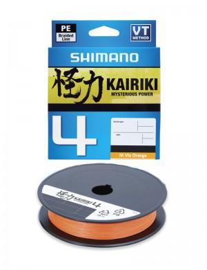Shimano Kairiki 4 150metri Orange