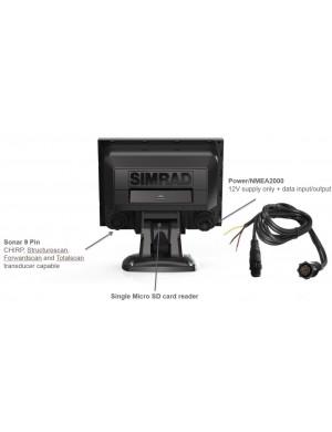 SIMRAD GO5 XSE con trasduttore HDI MED/HIGH 455/800