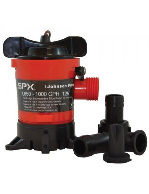 Pompa di sentina JOHNSON PUMP SPX L650 1000gph 12V