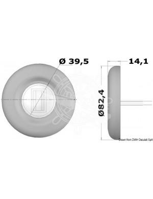 Luce di navigazione di POPPA a LED Sea-Dog in acciaio INOX mm 82,4 X H14,1
