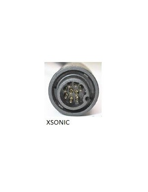 Trasduttore passante inox AIRMAR SS60 50/200KHz 600W connettore XSONIC (per carene