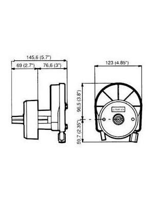 Timoneria meccanica T67 ULTRAFLEX
