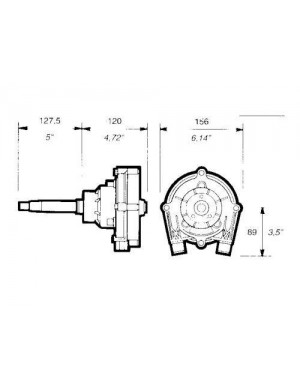Timoneria meccanica T73 NRFC ULTRAFLEX