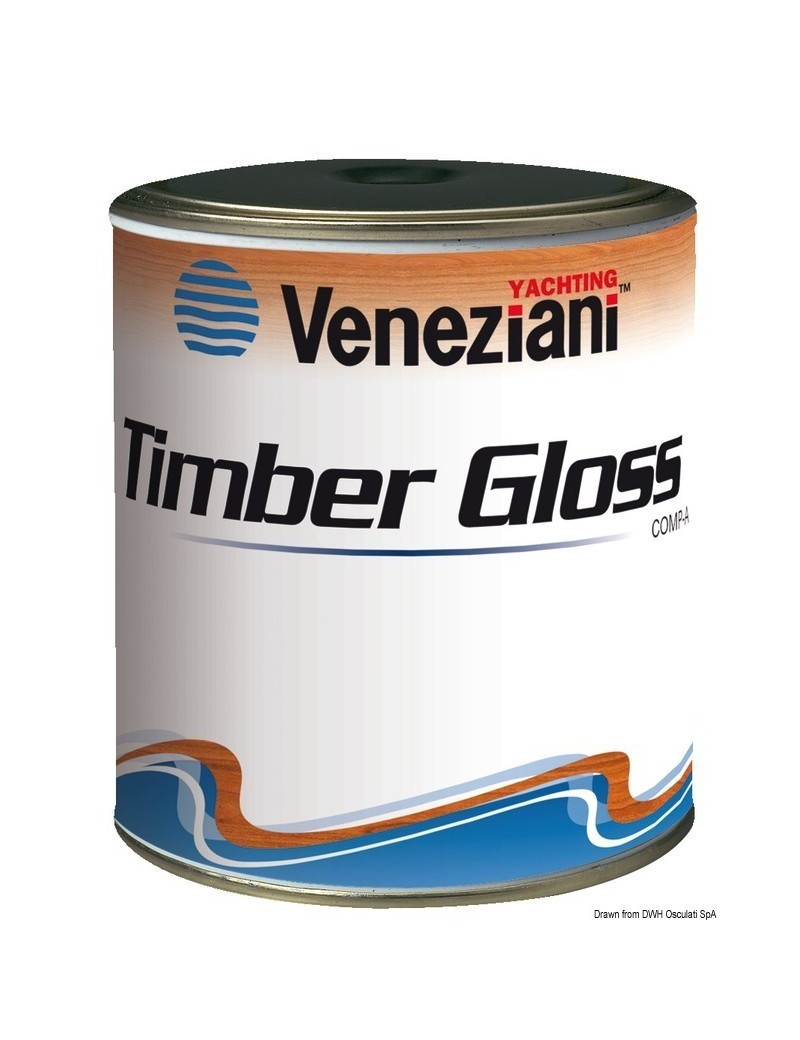 Veneziani TIMBER GLOSS Flatting marino brillante