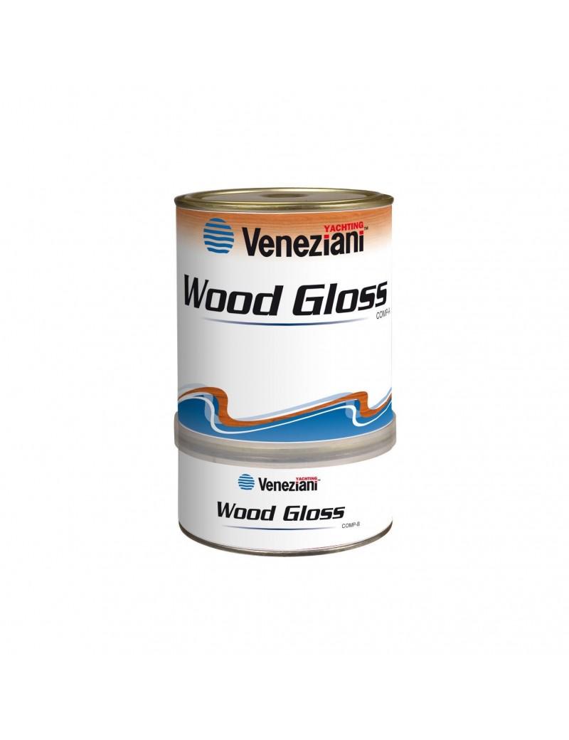 Veneziani WOOD GLOSS Vernice di finitura brillante da 0,75 LT