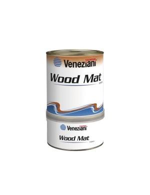 Veneziani WOOD MAT Vernice di finitura satinata per interni da 0,75 LT