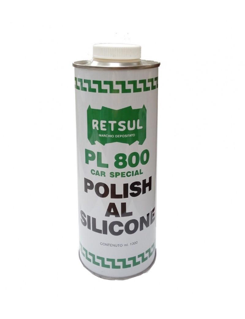 Polish al silicone PL800 RETSUL 1 Lt