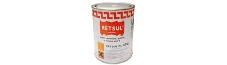 Pasta abrasiva PL322 RETSUL 1 Lt NERA per barche scure