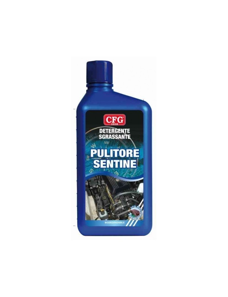 Detergente sgrassante PULITORE SENTINE CFG da 1 Lt