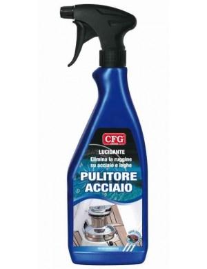 Pulitore lucidante ACCIAIO CFG da 0,5 Lt