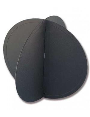 Pallone di segnalazione in policarbonato nero