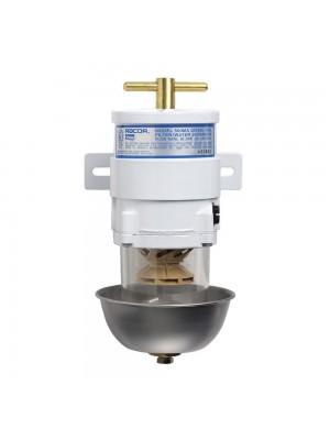 Filtro gasolio RACOR MARINE 900 MA completo di coppa inox e cartuccia filtrante