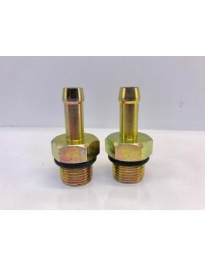 Coppia raccordi portagomma da 12 mm per filtri Griffin GTB341/681 e RACOR 900/1000