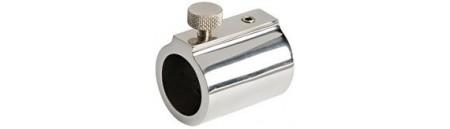 Raccordo INOX per GIUNTARE DUE TUBI CON MISURE DIVERSE DA  22 A 25 mm o renderli telescopici