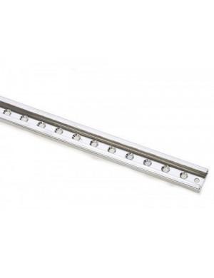 Rotaia multiforata in acciao INOX da cm 100 x 3