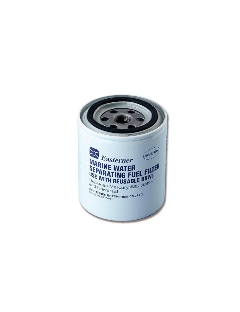 Filtro ricambio carburante separatore acqua/benzina 10 micron APERTO